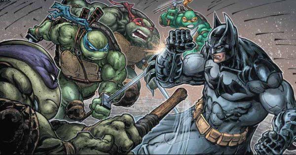 BATMAN&TARTARUGHE NINJA (2007) - L'incontro tra Batman e le Tartarughe Ninja non si fa attendere,