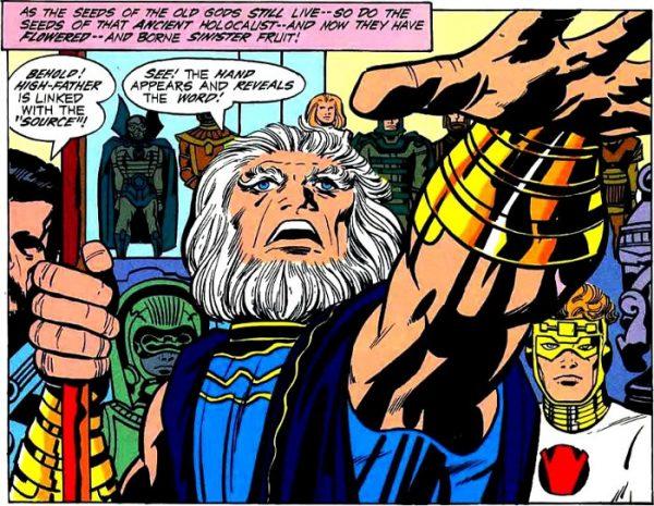 Highfather of New gods by Jack Kirby (ALTOPADRE E I NUOVI DEI)