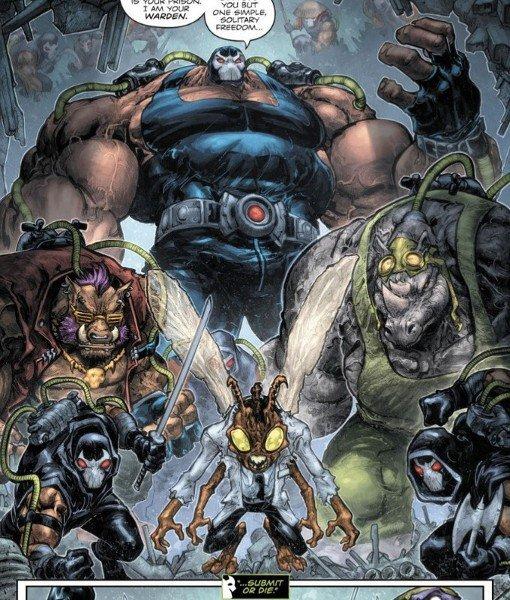 Bane sconfiggerà tutte le fazioni del Clan del Piede sottomettendole al suo volere