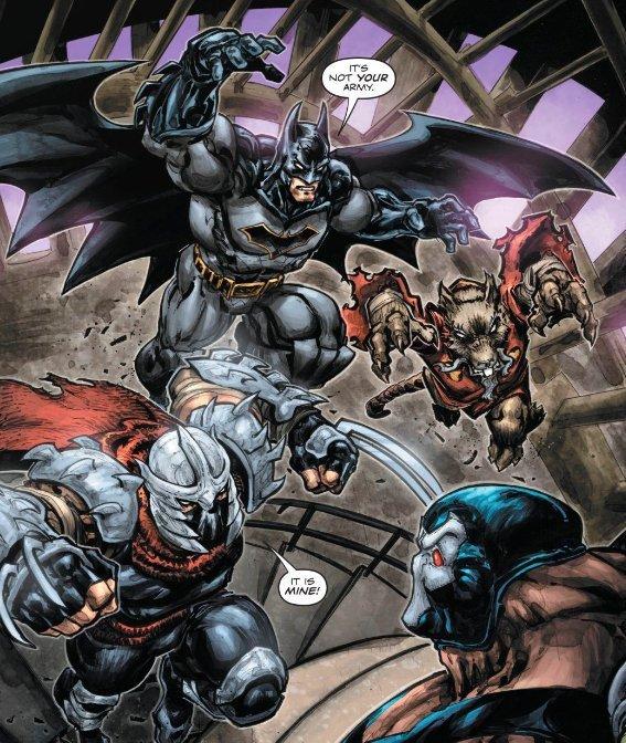 Altra vignetta tratta dal volume BATMAN TARTARUGHE NINJA II