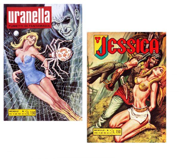 Fig.13 Uranella-Jessica, 1966-1968, ed. Bianconi