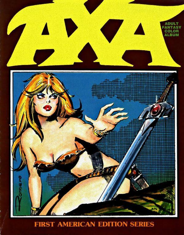 Fig.20b Axa, prima edizioni a colori, 1985, Eclipse Comics