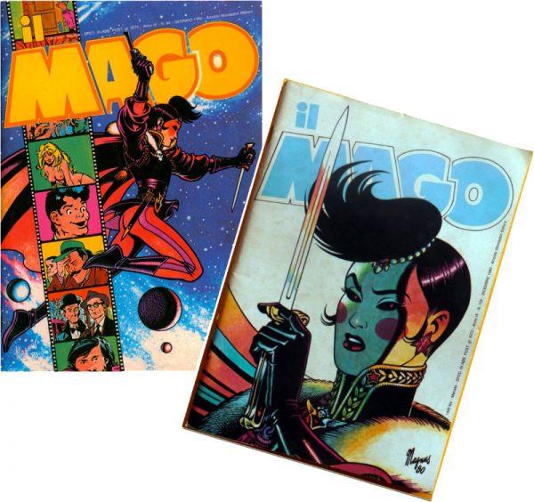 Fig.21a Milady nel 3000, n. 94/1980 n.105/1980, Il Mago