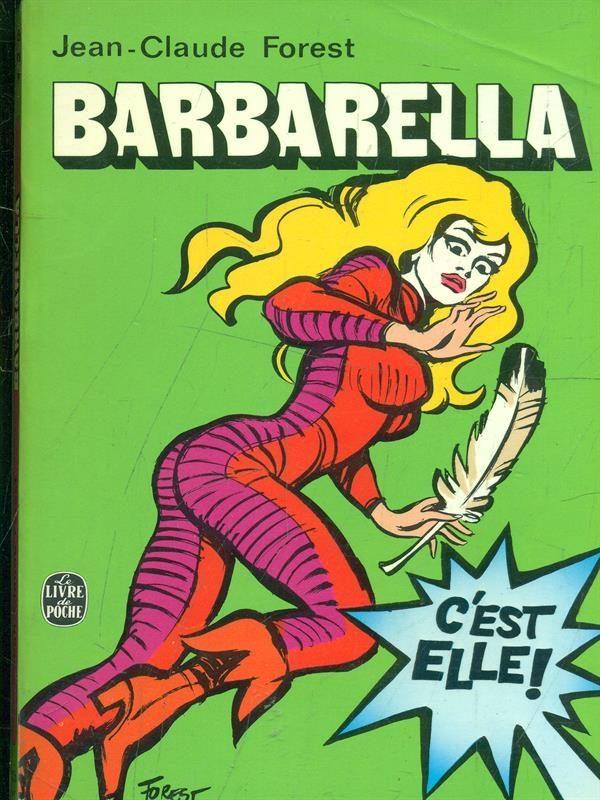 Fig. 3 Barbarella, Le Livre de Poche, 1974