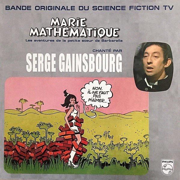 Fig. 8 Marie Mathématique, disco contenente le canzoni scritte per la serie TV