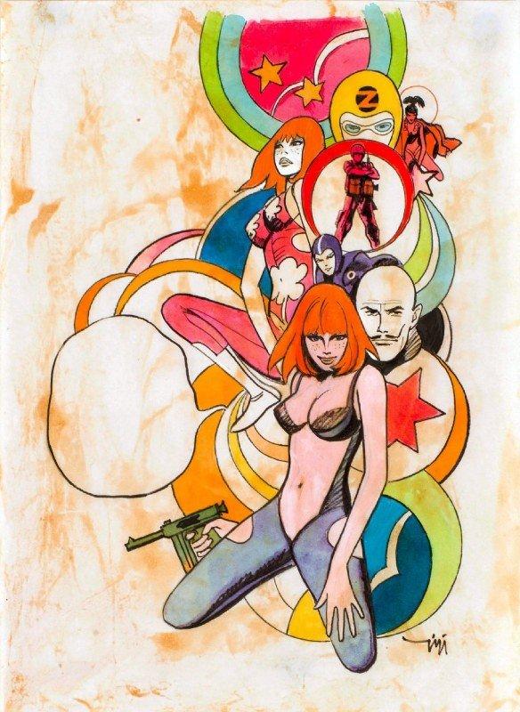 Fig. 9 Scarlett Dream, illustrazione del 1968