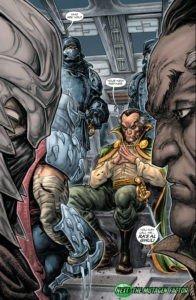 BATMAN&TARTARUGHE NINJA (2007) - Shredder farà conoscenza di Ra's Al Ghul.