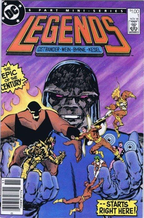 Legends il piano di Darkseid per minare la leggenda degli eroi