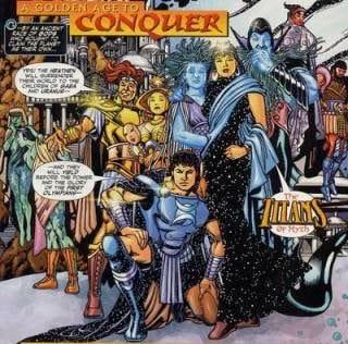 I titani del mito e il ritorno di donna Troy dopo la sua morte