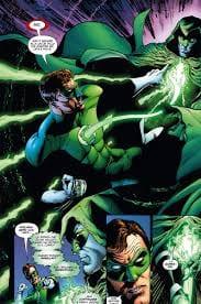 Il ritorno in vita di Hal Jordan dopo essere stato lo spettro