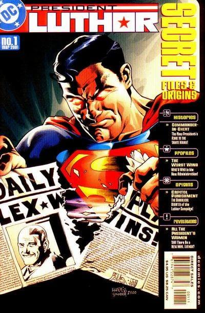 Luthor diviene presidente grazie anche al suo impegno per ricostruire Gotham e metropolis