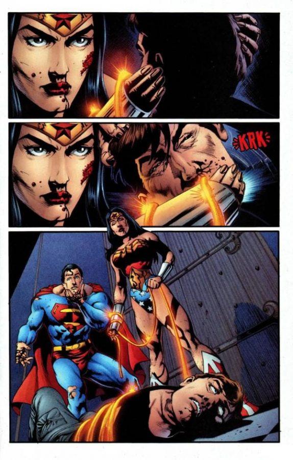 Per salvare Superman, Diana dovette spezzare il collo a Maxwell lord
