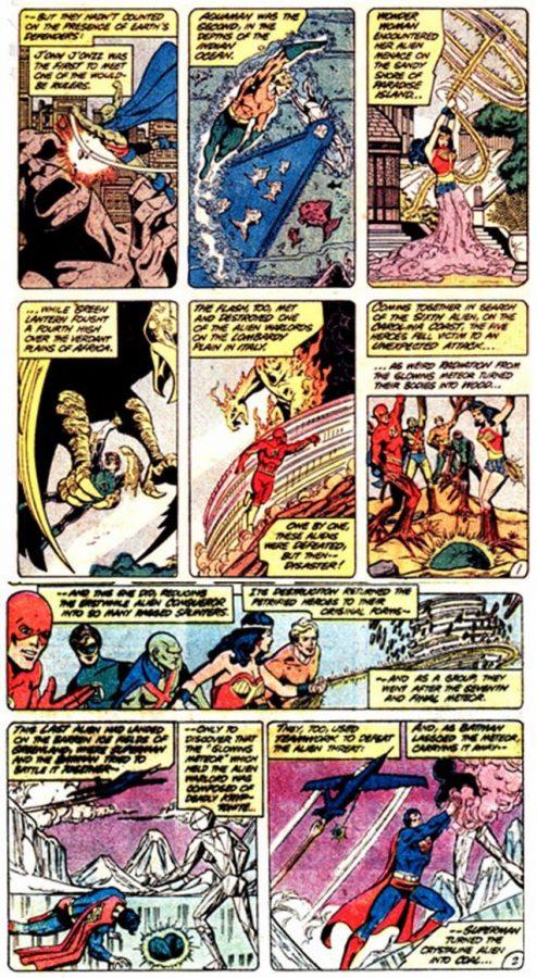 Torna di nuovo a far parte fin dall' inizio Diana come membro della justice League dopo crisi infinita