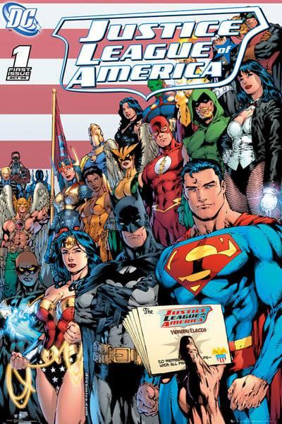 Viene ricreata la Justice League sotto la supervisione della Trinità che è tornata a riappacificarsi