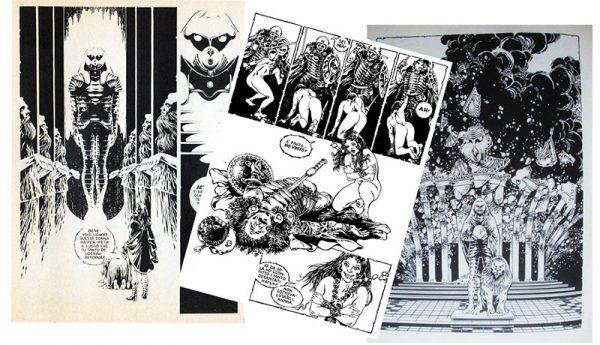 fig. 2 - tavole tratte dalla storia di anyhia 1981