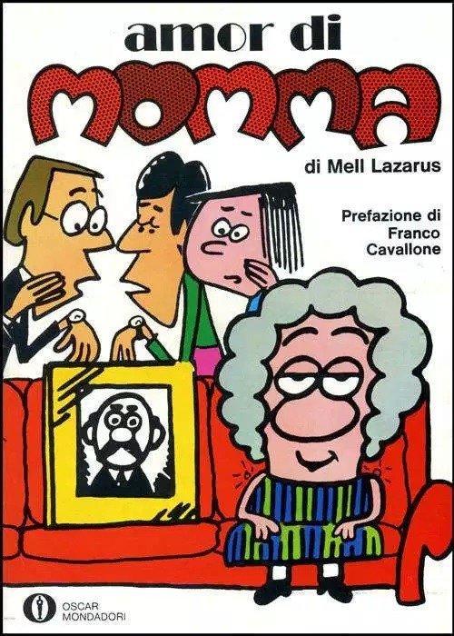 Copertina di Amor di momma - prima edizione italiana (1973)