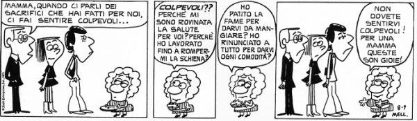 Striscia estratta dal volume Amor di momma - prima edizione italiana (1973)
