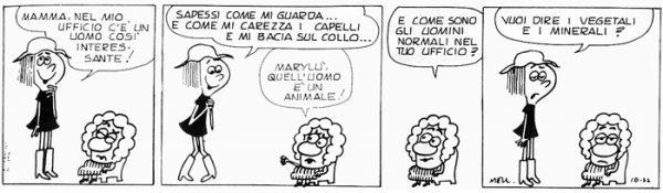Altra striscia estratta dal volume Amor di momma - prima edizione italiana (1973)