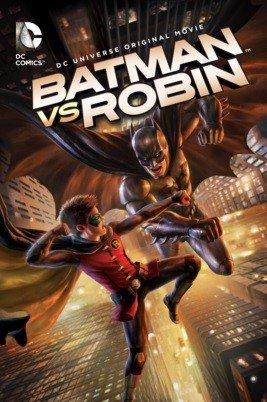 Illustrazione del film di animazione BATMAN VS ROBIN diretto da  J.M.DeMatteis