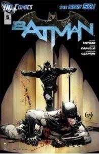 Cover del volume BATMAN LA CORTE DEI GUFI  di Scott Snyder,Greg Capullo