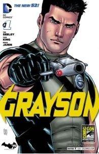 Covder del n. 1 della serie GRAYSON di Tim Seeley