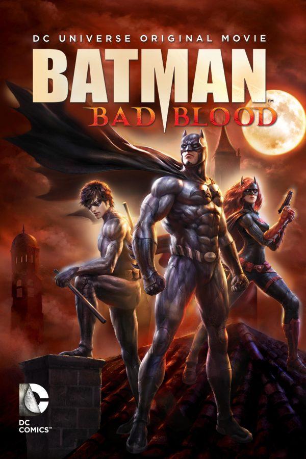 Illustrazione del film di animazione BATMAN: BAD BLOOD  diretto da Jay Oliva