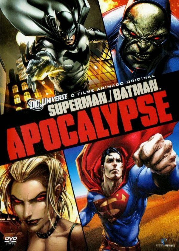 Copertina del DVD SUPERMAN\BATMAN - APOCALYPSE diretto da Lauren Montgomery