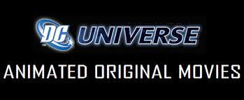 Logo del DC Universe Animated Original Movies