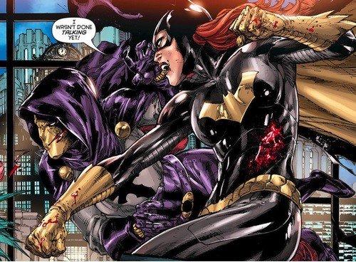 Batgirl in azione