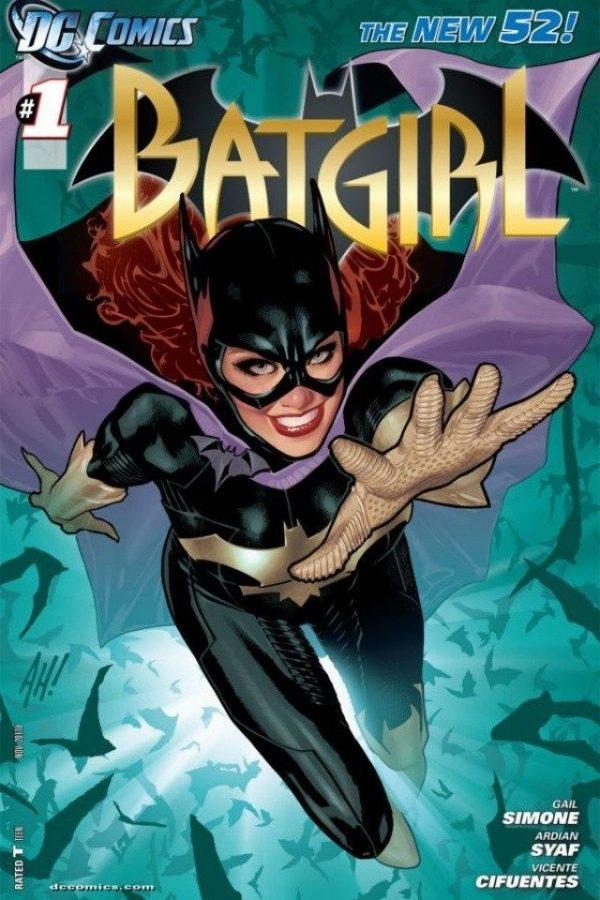 Copertina del #1 della serie Batgirl,all'interno del new52.