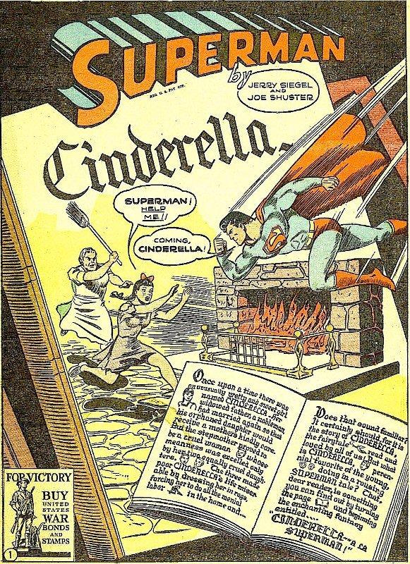 Illustrazione dedicata Superman