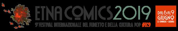 Banner orizzontale di Etna Comics 2019