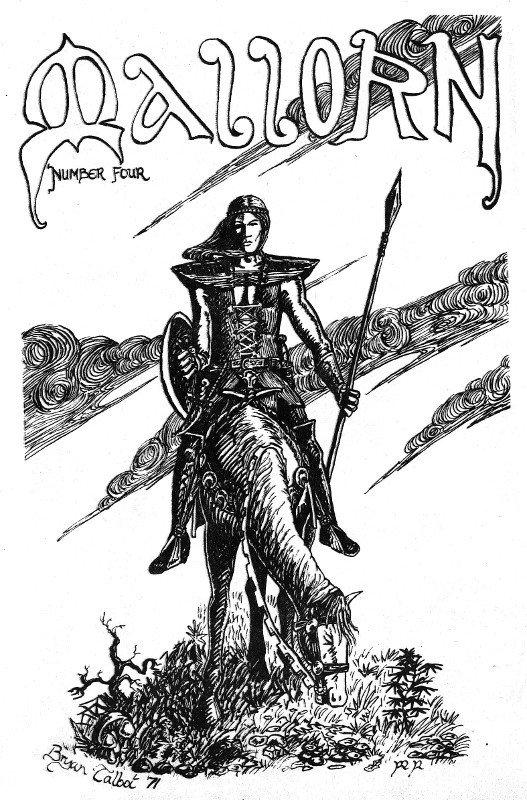 Una delle prime copertine di bryan talbot (anno 1971)