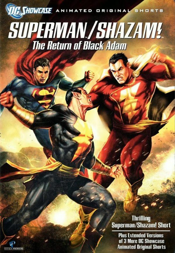 SUPERMAN\SHAZAM!-IL RITORNO DI BLACK ADAM diretto da Joaquim Dos Santos
