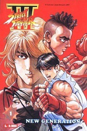 COPERTINA DEL PRIMO VOLUME DI Street Fighter III (Jade Ediperiodici Publishing )