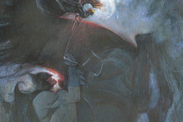 Immagine promozionale della mostra su Batman ad EtnaComics 2019