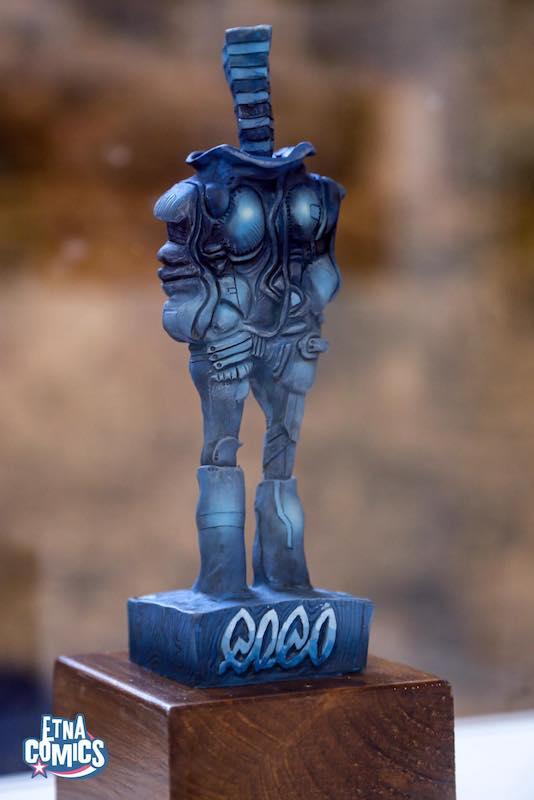 Il premio Coco, asssegnato durante la nona edizione di Etna Comics.