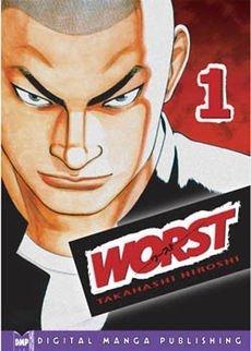 Worst, copertina del vol. 1