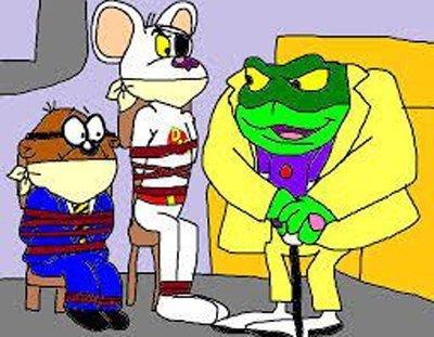 molte persone pensavano che Krapaud fosse un riferimento al Barone Greenback, un personaggio nella serie Danger Mouse dello studio televisivo Cosgrove Hall.