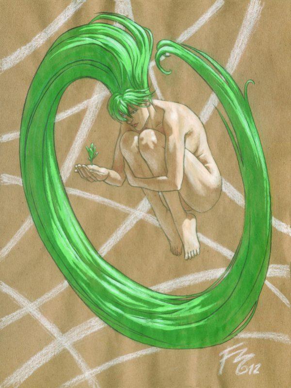 Illustrazione ispirata a Moebius di Federica Manfredi