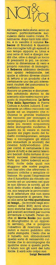 L'editoriale (Noi&voi), scritto da Luigi Bernardi, estratto dal n. 24 della rivista Orient Express