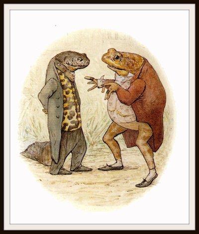 """""""Isacco"""": prende il nome dal personaggio Sir Isacco Newton da La storia del signor Jeremy pescatore di Beatrix Potter."""