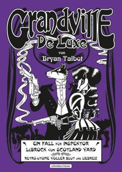 Copertina  dell'edizione tedesca del terzo volume di Grandville intitolato: De Luxe