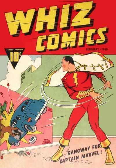 Copertina dell'albo di Whiz Comics dove appare per la prima volta Ibis the Invincible . Per gentile concessione