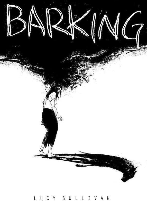 Immagine  di Lucy Sullivan per Barking, un romanzo grafico su dolore, follia e i fantasmi che ci perseguitano che verrà lanciato al Festival da Unbound.
