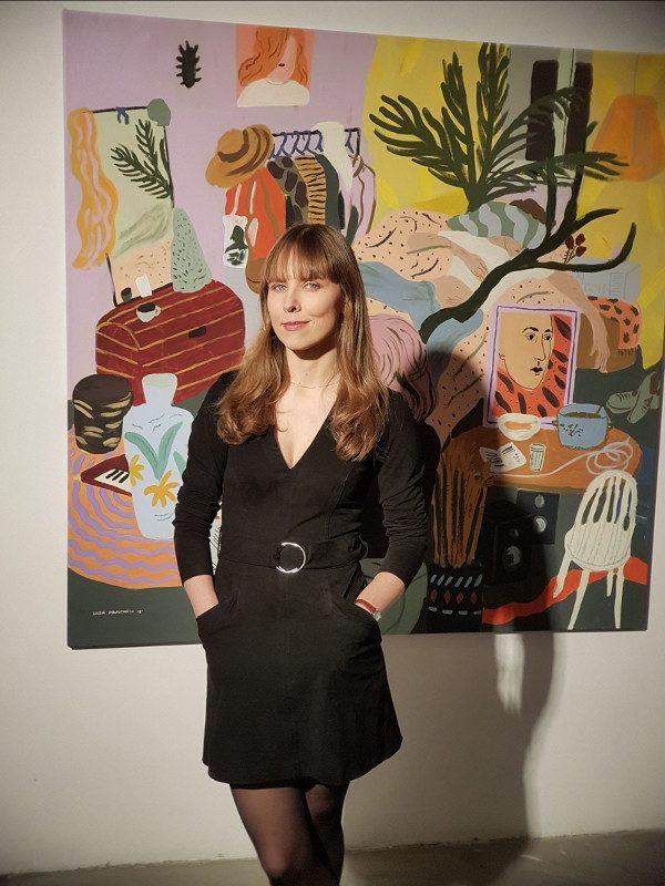 Liisa Kruusmägi. Nata a Tallinn, la nostra ospite Liisa Kruusmägi è un'artista indipendente che usa principalmente pittura e disegno e lavora come illustratrice. La potrete incontrare al LICAF