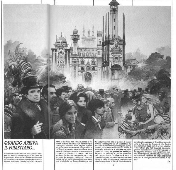 Speciale ILLUSTRARE CINEMA,  con un approfondimento scritto da L. Bernardi, estratto dal n. 26 della rivista Orient Express