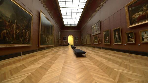 Questa galleria è basata su una presente (esistente) nel Louvre.