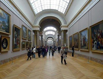 Questo posto è basata sulla Grande Galleria del Louvre.