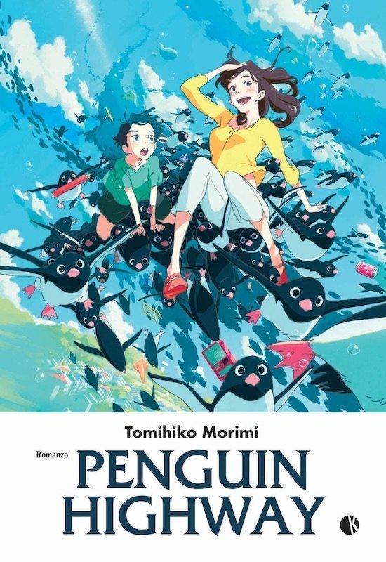 copertina del romanzo PENGUIN HIGHWAY di Tomihiko Morimi